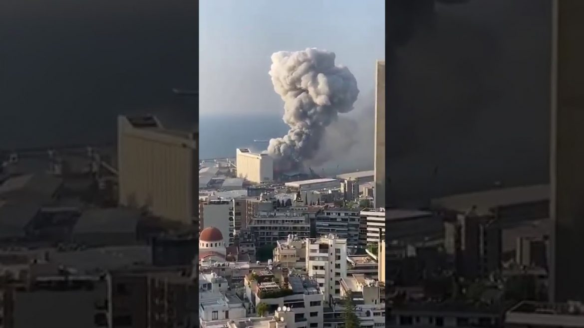 A powerful explosion occurred in Beirut