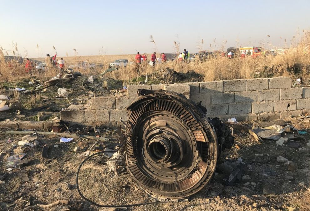 Iran revealed new data from the black boxes of the downed Ukrainian Boeing