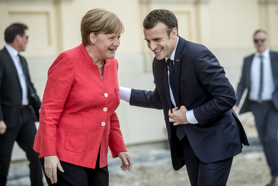 Navalny was recognized as a guest of Merkel